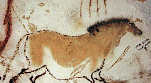 Kunstnere i steinalderen var veldig opptatt av hester