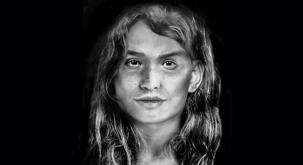 En student i rettsmedisin ved Universitetet i Dundee (Skottland) har med utgangspunkt i hodeskallen etter en guanche-kvinne som levde for lenge siden, forsøkt å gjenskape utseendet hennes. Vi vet ikke sikkert at det var slik kvinnen så ut.
