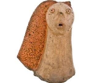 En kvinnefigur funnet på Gran Canaria.