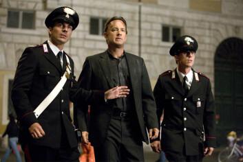 Professor Robert Langdon spilles av Tom Hanks i filmen Engler og demoner. Langdon må bedrive intens kodeknekking i høy hastighet for å unngå at antimaterie-bomben eksploderer... (Foto: Sony Pictures)