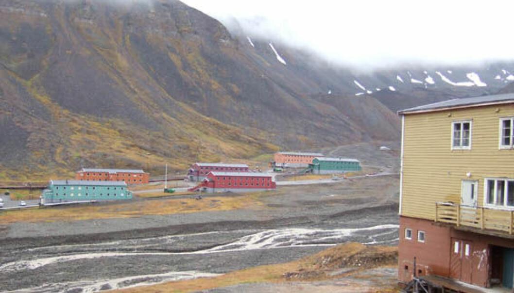 Sjekker PCB-forurensning på Svalbard
