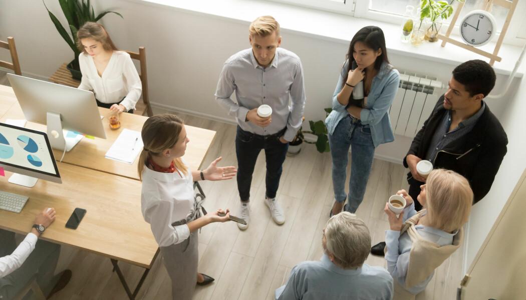Ifølge en ny undersøkelse skorter det på sjefens evne til å motivere og engasjere de ansatte. Det er velkjent at mange ledere overvurderer seg selv, sier professor. (Foto: Shutterstock)