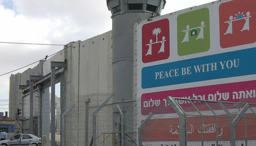 Folkerettsstridig mur snart ferdig