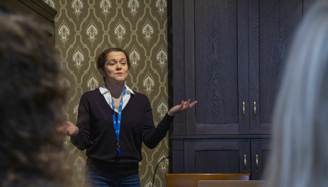 Evolutionary biologist and CAS Fellow Mihaela Pavličev presented her latest research on the female orgasm during the second lunch seminar at CAS this semester.