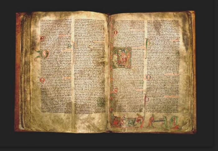 Originalutgaven av Flatøybok er en spesielt vakker middelalderbok.