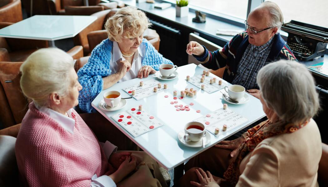 Studien viste at personer i 70-årsalderen som spilte spill ofte, hadde et skarpere sinn enn de som ikke spilte like ofte.