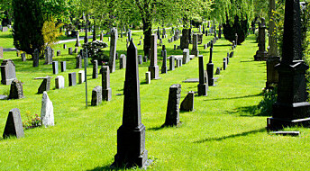 Kronikk: Kirkegården ikke lenger siste hvilested
