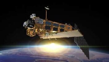 Envisat, den største europeiske jordobservasjonssatellitten. Ill.: ESA.