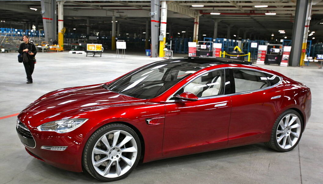 Tesla Motors nye «Model S». (Photo: Wikipedia commons)