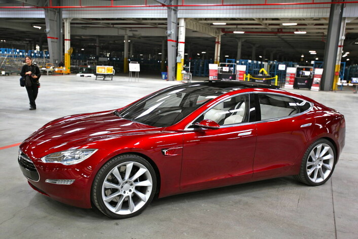 Tesla Motors nye «Model S». (Foto: (Photo: Wikipedia commons))