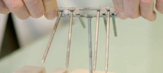 6. desember: Korleis kan ein balansere ti spikrar oppå ein spikar?