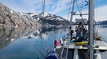 Sporet mikroplastens reise i Arktis