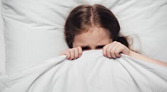 Barn med angst sover dårlig