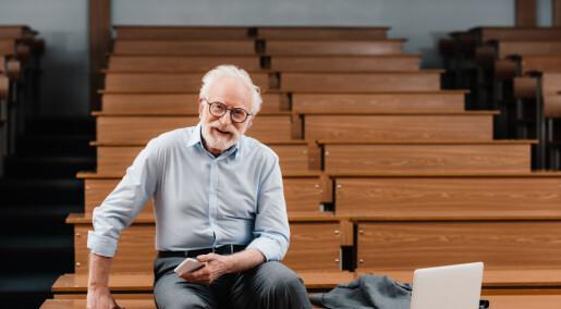 Professorene som blir intervjuet av VG og Aftenposten er som oftest menn