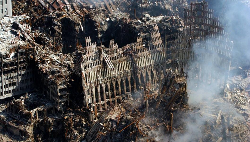 World Trade Center etter terrorangrepet 11. september 2001