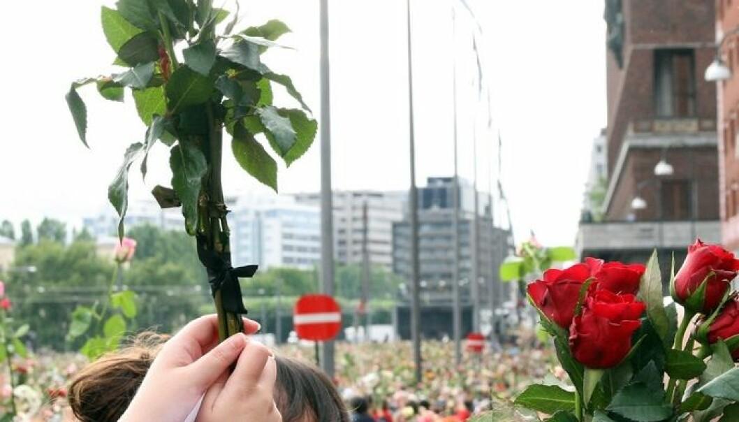 Rosetoget i Oslo etter terrorangrepet mot Oslo og Utøya 22. juli 2011 Erik F. Brandsborg, Aktiv I Oslo.no