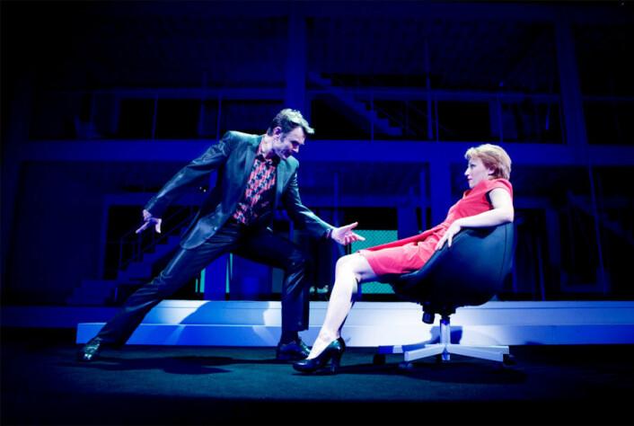 Fra forestillingen «Next to Normal» ved Det Norske Teatret. (Foto: Fredrik Arff)