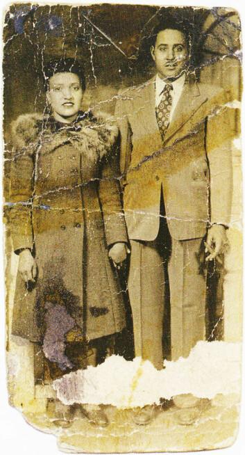 Henrietta og David Lacks i 1945.