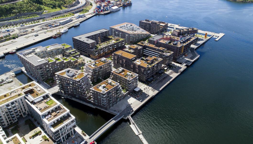 Norske boligpriser stiger til nye høyder, selv om veksten har bremset. Det betyr at husholdningenes gjeld fortsatt vokser raskere enn de disponible inntektene, noe som øker risikoen for en smell, advarer OECD i fersk rapport.