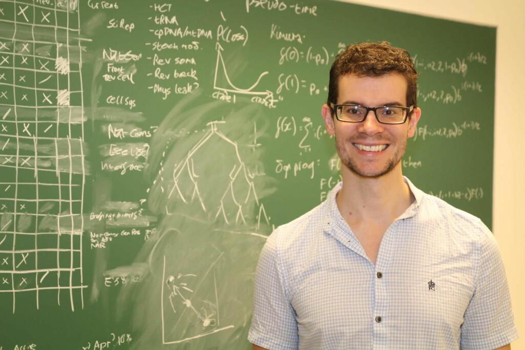 Iain Johnston har ledet forskningen bak HyperTraPS, et nytt matematisk verktøy som gjør det lettere å forutsi hvordan en sykdom vil utvikle seg hos den enkelte pasient.