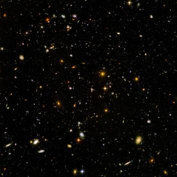 """Hubble Ultra Deep Field. (Foto: ESA/NASA)"""