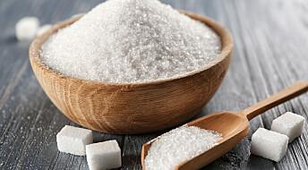 Bakterier lager sukker som smaker nesten likt som vanlig sukker, men har færre kalorier