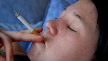 Røyking kan føre til hvite arr i hjernen