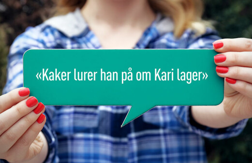 Scandinavians' little linguistic hat trick