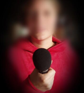 Kvinner nøler med å stille opp til intervjuer i media. (Foto: Morten Stene)