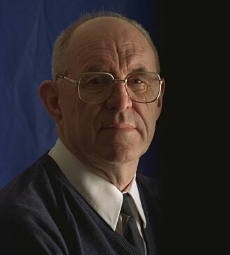 Professor emeritus Jens Glad Balchen. Foto fra brosjyren «Teknologi for samfunnet» fra 1998.