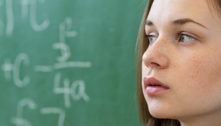Hvorfor velger mange jenter bort matematikk?