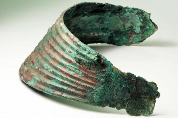 Ølby-kvinnens halskrage inneholder metall fra fjell i Slovakia, ifølge den nye studien.