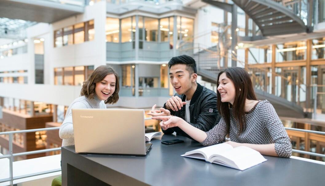 En fersk rapport fra Diku viser at møteplassene mellom norske og internasjonale studenter noen ganger er organisert på måter som skiller, heller enn å bringe dem sammen.