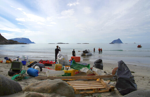 The Arctic at risk from plastic