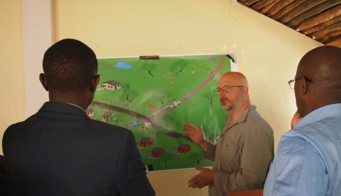 Martin Reinhardt Nielsen from the University of Copenhagen talks to stakeholders about future scenarios.