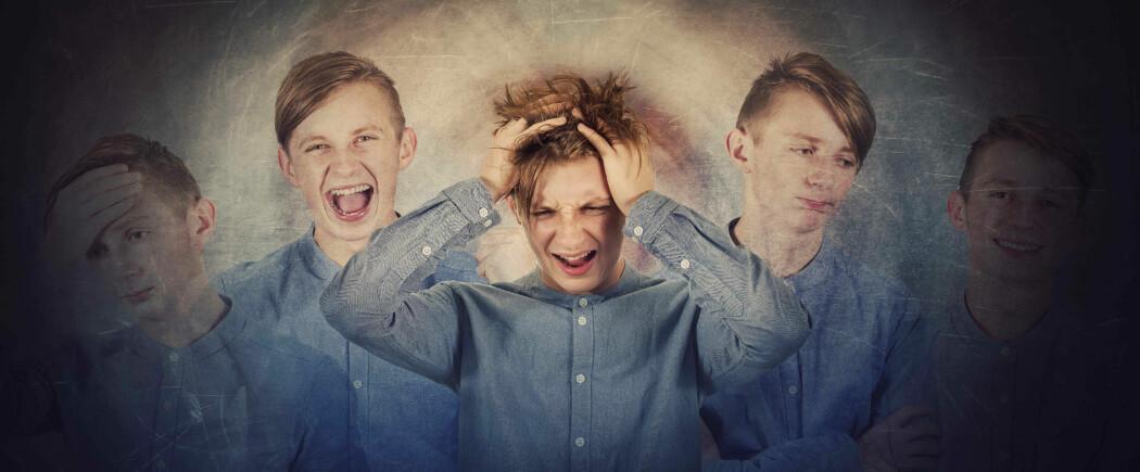 Bipolar lidelse er kjennetegnet ved svingninger mellom dype depresjoner og oppstemte faser.