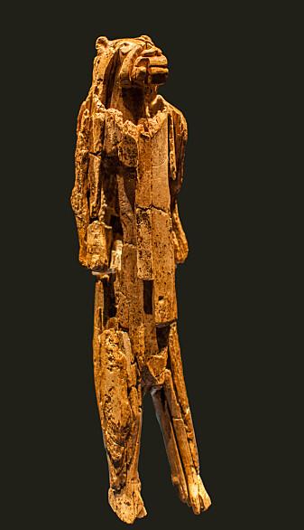 Løvemannen ble funnet i en sørtysk hule i 1939.