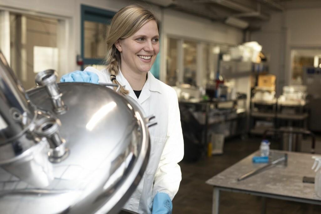 Anna Dysvik er i ferd med å fullføre sin doktoravhandling på surøl.