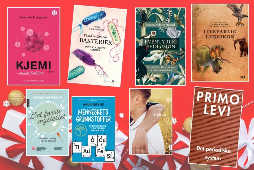 Her er noen bøker som kan tilfredsstille en kunnskapshungrig på julaften.