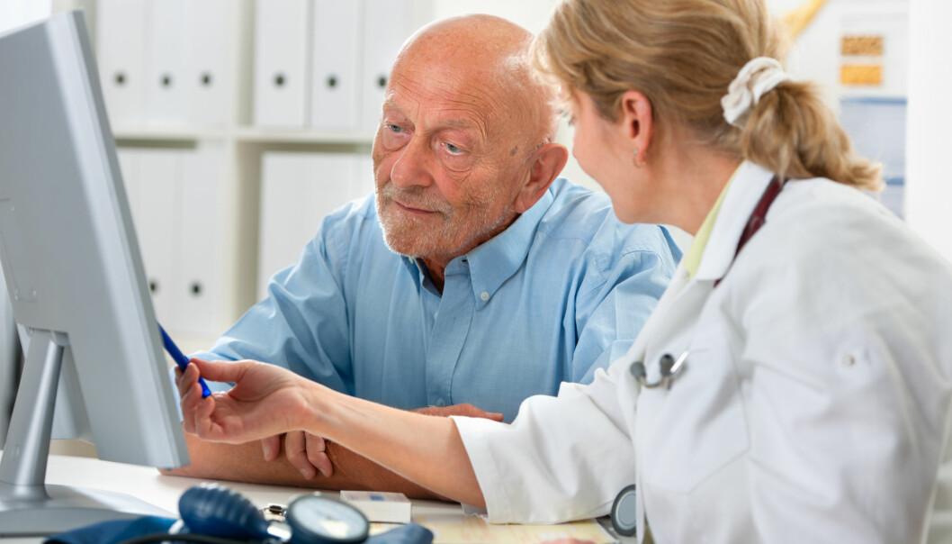 Prostatakreft rammer som regel eldre menn.