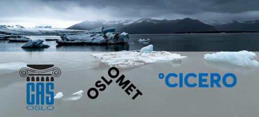 CICERO og OsloMet inngår samarbeid med CAS