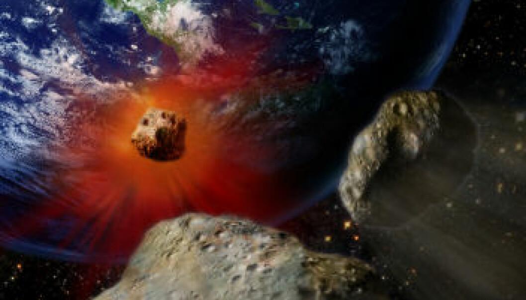 Nytt mineral i meteoritt