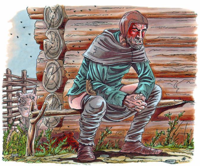 Det kunne noen ganger være en prøvelse å være vertskap. Analyser fra latriner funnet på Follobaneprosjektet viser at innvollsorm var noe flesteparten av middelalderens osloborgere fikk føle på kroppen.