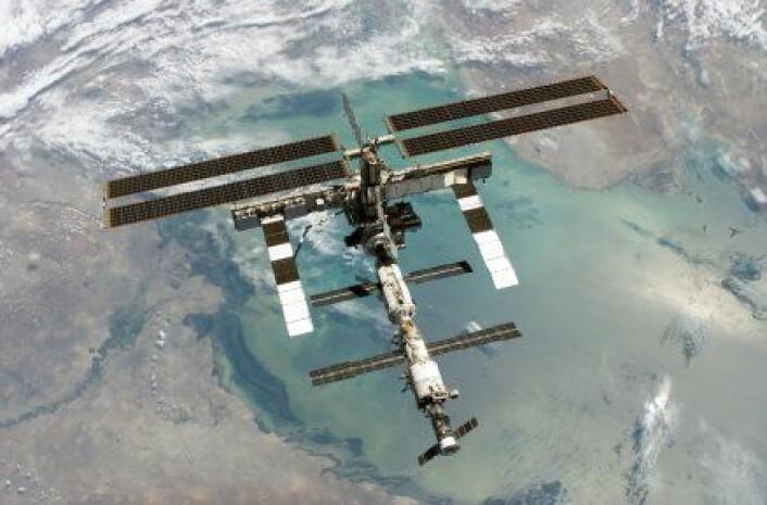 """""""Den internasjonale romstasjonen (ISS) faller ikke ned."""""""