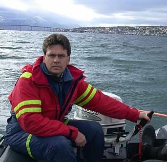Stephen Wickler, seniorforsker ved Norges arktiske universitetsmuseum.