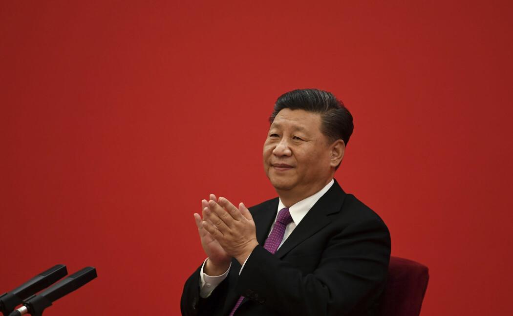 Det var tirsdag det kinesiske utdanningsdepartementet kunngjorde at Fudan-universitetets charter er blitt endret. Bildet viser Kinas president Xi Jinping i Beijing i desember.