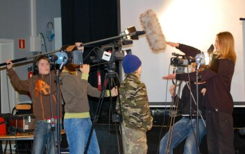 Ungdom lager film. (Foto: HiL)