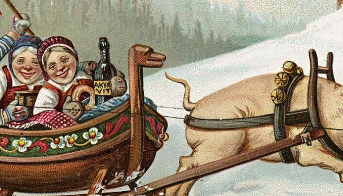 Hvor mye har den norske julen forandret seg på 200 år?
