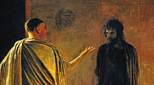 Pontius Pilatus ga de troende en vakker pilegrimsvei i Jerusalem