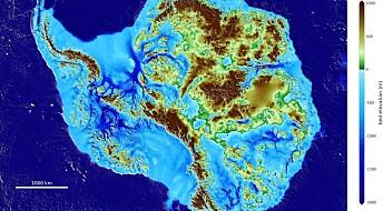 Dette landet skjuler seg under isen på sydpolen